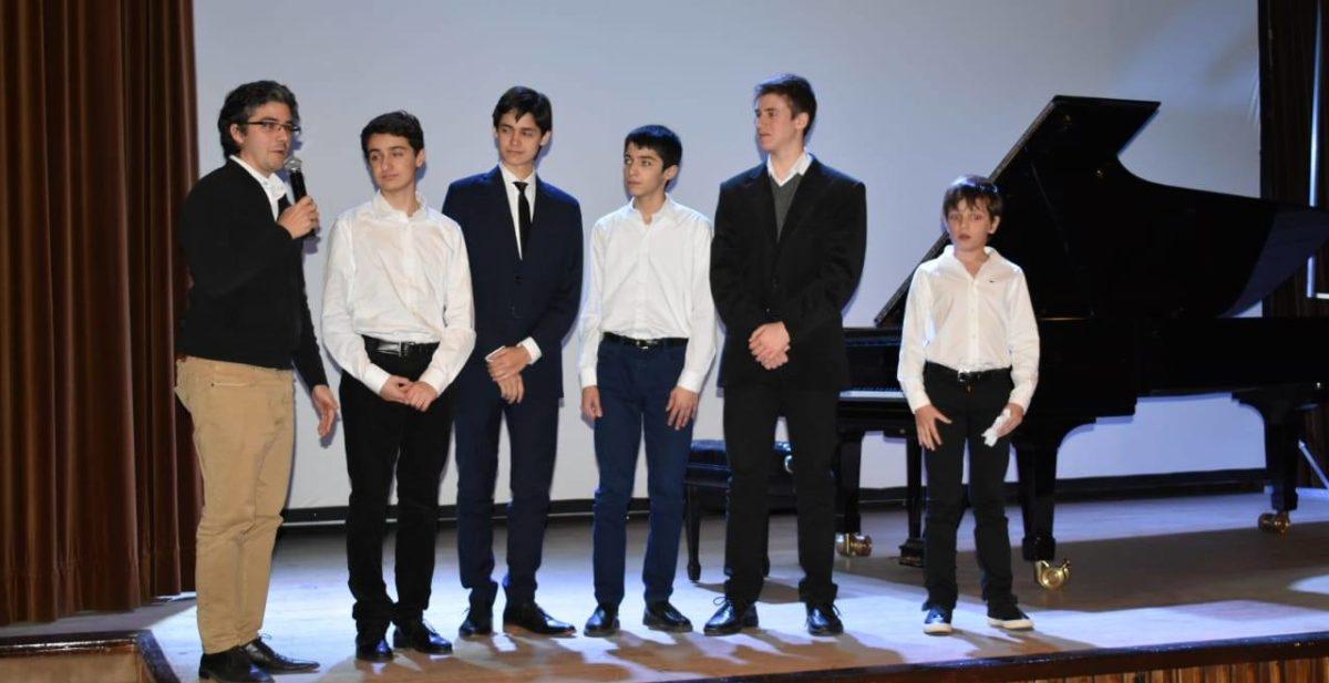 Concierto de becarios CEP / Curso trienal Mtro. Marcelo Balat