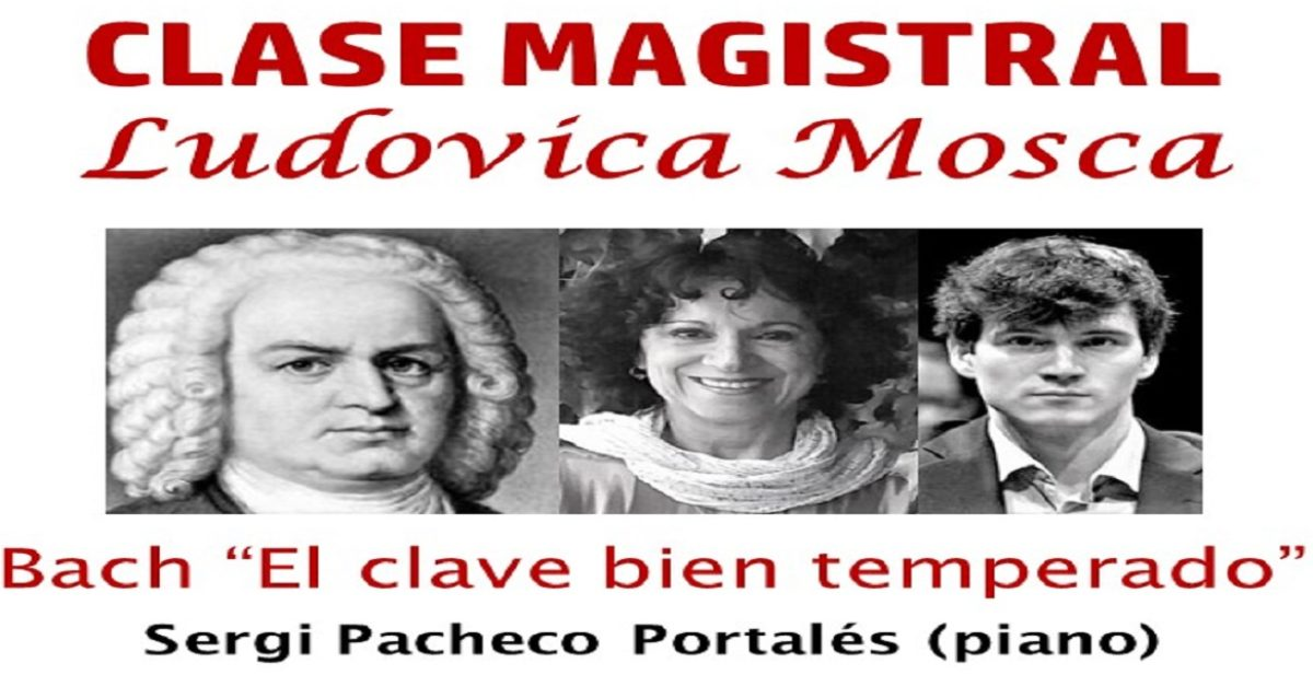 Clase magistral Bach / Ludovica Mosca